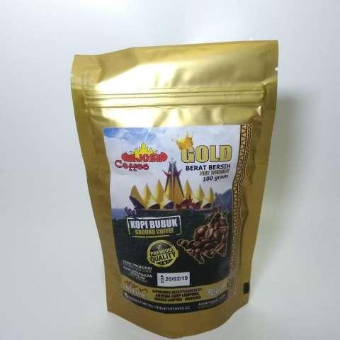 Home; Kopi Lampung Cap Anjosia Gold Robusta Kopi Bubuk 100 Gram - Premium Quality
