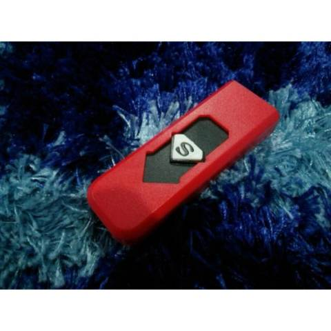 Korek Api Lighter USB Anti Angin - Korek Elektrik Korek Api USB Korek Api Elektrik Unik