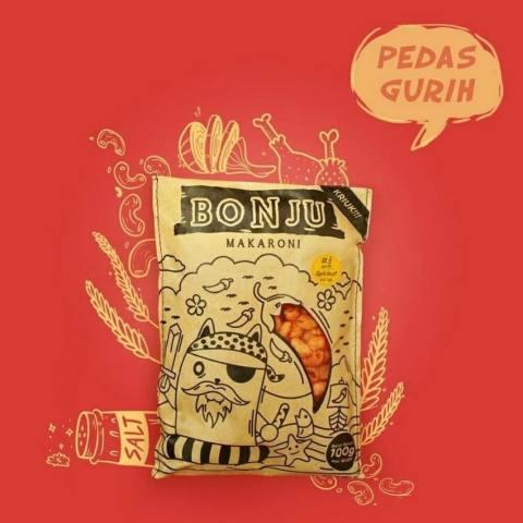 MAKARONI BONJU - Pedas Gurih - Super Hot