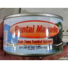 Pantai Manado Ikan Tuna Kaleng Sambal Goreng 180 gr 5 kaleng