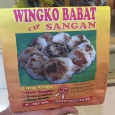 Wingko Babat VACUUM Merk Sangan Semarang Aneka Rasa Isi 15 Pcs