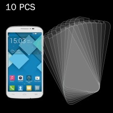 10 PCS for Alcatel One Touch Pop C7 0.26mm 9H+ Surface Hardness 2.5D Explosion-proof Tempered Glass Film - intl