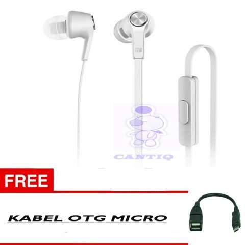 100% Xiaomi Earphone Piston Handsfree Xiaomi Original Youth 3rd Generations Headset Xiaomi + Free Kabel