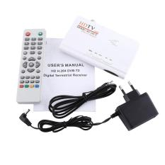 1080P HD HDMI DVB-T2 TV Box Tuner Receiver Converter Remote Control Without VGA Cable - intl