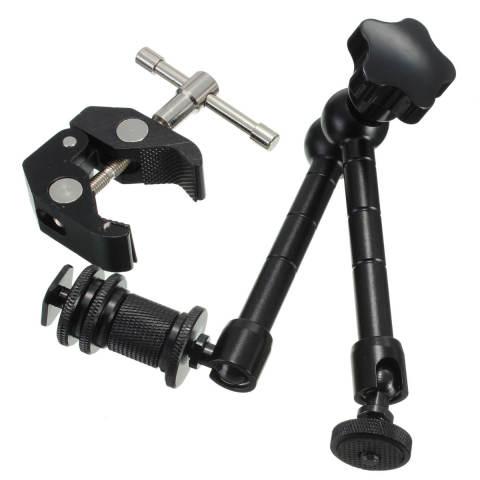 ... Home 27 94 Cm Mengartikulasikan Lengan Ajaib Super Japit Kepiting Tang Penjepit For DSLR Kamera