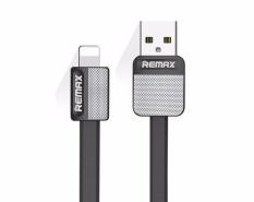 1 M Platinum Wing Metal Seri 2.1A Super Fast Charge & Data Lightning USB Kabel dengan LED Light untuk Apple IPHONE 7/6 S/6 S Plus/6/5 & IPad Air/Mini (HITAM) -Intl