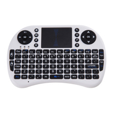 2. 4g Wireless Keyboard Mouse Remote AC Touchpad (Putih)