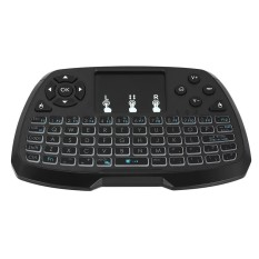 2.4GHz Wireless Keyboard Touchpad Mouse Handheld Remote Control for Android TV BOX Smart TV PC Notebook - intl