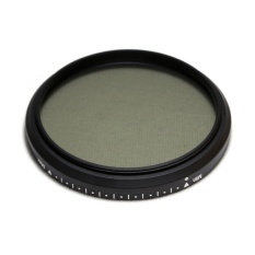 2 Pcs * LightDow 52mm Fader ND Neutral Density Variable Filter dengan 55mm Benang Filter Depan untuk Kamera Lensa (Hitam) -Intl