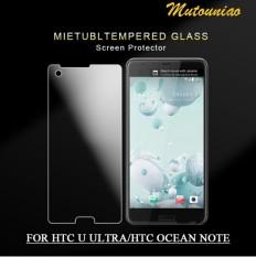 2 Pcs/lot untuk HTC Desire U Ultra/Laut Note 9 H Kaca Melunakkan Layar Pelindung Film-Internasional
