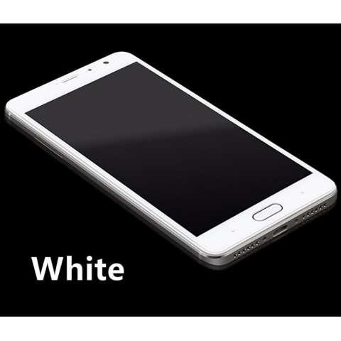 Kenzoe 3D Full Cover Tempered Glass Warna Screen Protector for Xiaomi Redmi 3 - White
