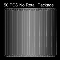 50 PCS for LG K10 (2017) 0.26mm 9H Surface Hardness Explosion-proof Non-full Screen Tempered Glass Screen Film, No Retail Package - intl