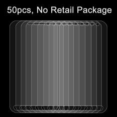 50 Pcs untuk Samsung Galaxy Xcover 4/G390F 0.26mm 9 H Kekerasan Permukaan Tahan Ledakan Tidak Layar Penuh Film Anti Gores-Intl