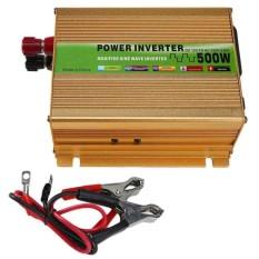 500W DC12V to AC220V Peak Modified Sine Wave Full-bridge Power Inverter - intl