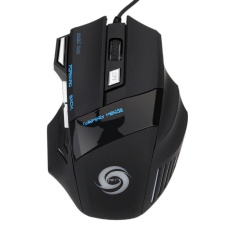 5500 DPI 7 Tombol LED Optik USB Wired Gaming Mouse Mouse untuk PRO Gamer Hot 182711103925-Intl