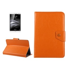 7 Inch Tablet Leather Case Crazy Horse Tekstur Protective Case Shell dengan Pemegang untuk Samsung Galaxy Tab A 7.0 (2016) /T280 dan Tab 4 7.0/T230 dan Tab Q T2558, Colorfly G708, ASUS ZenPad 7.0 Z370CG, Huawei MediaPad T1 7.0/T1-701u (Orange)-Intl