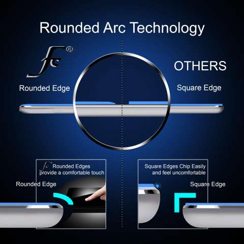 9H+ SCREEN GUARD PROTECTOR ANTI GORES TEMPERED TEMPER GLASS KACA PELINDUNG LAYAR 2.5D ROUND CLEAR