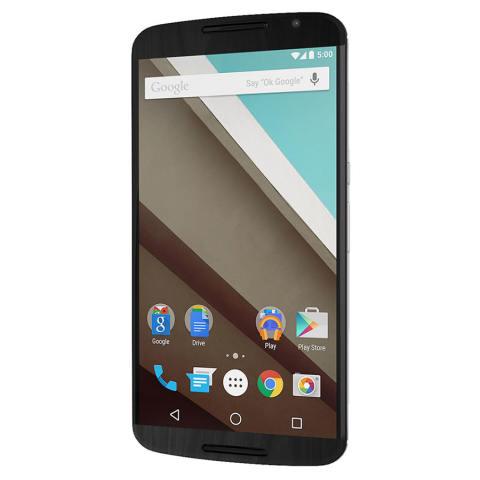 9Skin Premium Skin Protector Motorola Nexus 6 - Wood Texture - Hitam