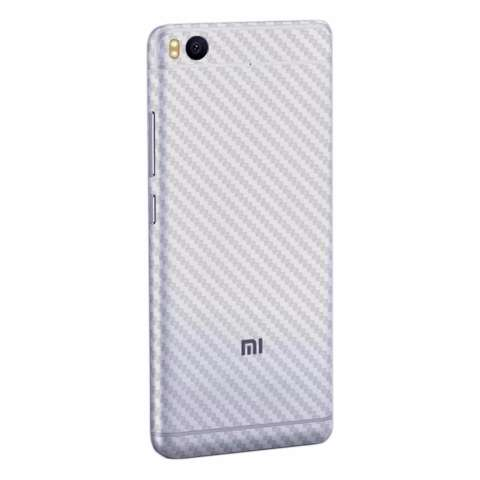 Home; 9Skin - Premium Skin Protector untuk Case Xiaomi Mi5S - Carbon Texture - Putih