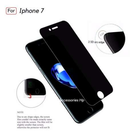 Accessories Hp ANTI SPY Tempered Glass Premium Screen Protector Privacy For Iphone 7 1