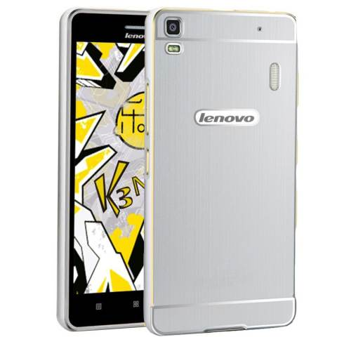 Accessories Hp Hunter Elegant Lenovo A7000 Plus Metal Bumper Backcase