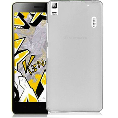 Accessories Hp Lenovo A7000 Ultrathin Aircase - Abu-abu Clear + Gratis Tempered Glass