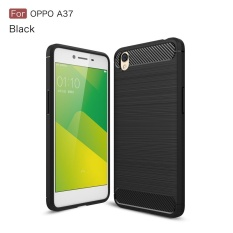 Accessories HP Premium Quality Carbon Shockproof Hybrid Case for OPPO A37 / Neo 9 - Black
