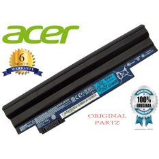 ACER Original Baterai Notebook Laptop D255 D260 Hitam Black Aspire One 360 522 722 D270 E100 Cromia AC761 AOD255 AOD257 AOD260 D255 D257 D260 Happy Happy2 AOD270