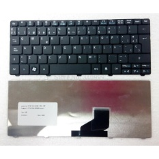 ACER Original Keyboard Laptop Notebook Netbook Aspire One 532H D255 D257 D260 EM350 NAV50 Black Hitam