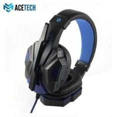ACETECH Headset Headphone Gaming LED Untuk Komputer Laptop PC Games Premium Champion
