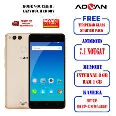 ADVAN i5C Lite DUAL CAMERA 8GB/4G LTE Free StarterPack & Tempered Glass