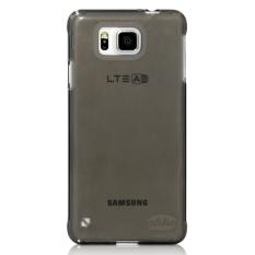 AHHA Moya Samsung Galaxy Alpha - Soft Case Clear-Black