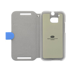 Ahha Reily Flip Cover Casing for HTC One M8 - Blue