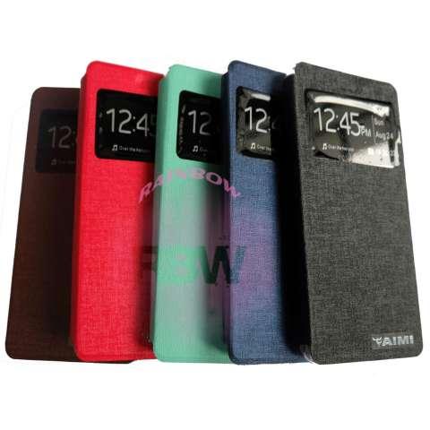 Aimi Xiaomi Mi 4S / Xiaomi MI4S Flipshell / Flip Cover / Sarung Case / Leather Case Xiaomi MI 4S / Sarung HP Xiaomi - Merah 1