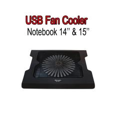 Alas Pendingin Notebook/ Laptop 14 dan 15 Inci Bahan Berkualitas