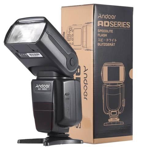 Andoer AD-980II E-TTL HSS 1/8000 S Tuan Budak GN58 Flash Speedlite For Canon 5D Mark III/5D Markus II/6D/5D/7D/60D/50D/40D/30D/700D/100D /650D/600D/550D/500D/450D DSLR Kamera 1
