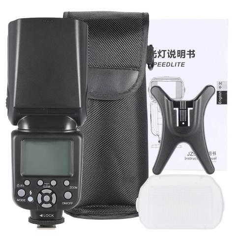 Andoer AD-980II E-TTL HSS 1/8000 S Tuan Budak GN58 Flash Speedlite For Canon 5D Mark III/5D Markus II/6D/5D/7D/60D/50D/40D/30D/700D/100D /650D/600D/550D/500D/450D DSLR Kamera 3