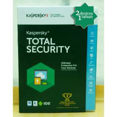 ANTI VIRUS Kaspersky Total Security / Pure 2018 2 PC 1 Year
