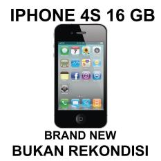 Apple Iphone 4S GB - Black Brand New Bukan Rekondisi
