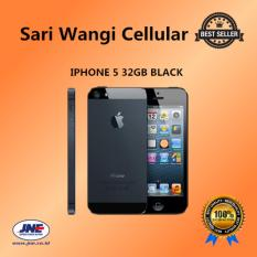 Apple iPhone 5 - 32GB - Hitam - Grade A