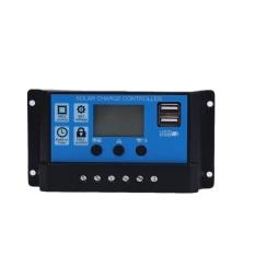 Arcic Land 30A USB Panel Surya Baterai Sistem Regulator Pengisi Daya Mengisi Daya 12/24 V-Intl