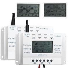 Arcic Land LCD 3 Timer 12V/24V MPPT Solar Panel Regulator CONTROL USB 5V Charger Controller - intl