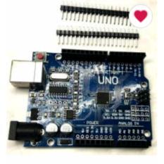 arduino uno r3 atmega 328p smd ch340g + no  usb kabel free pin header , led & resistor