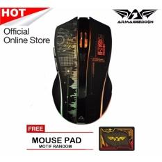 Armaggeddon Wireless Gaming Mouse Mikoyan Foxbat III + Mousepad random