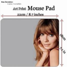 Art Print Mouse Pad Mat (22*18cm) for Celebrity C489 Mischa Barton