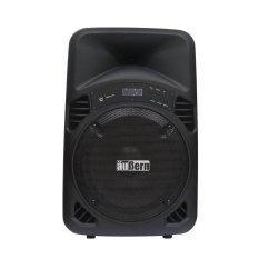 Aubern Speaker Portable Amplifier Wireless - Be-12cr - Hitam
