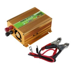 Auto Mobil Wave Power Inverter 500 W DC12V untuk AC220V USB Adapter Travel-Intl