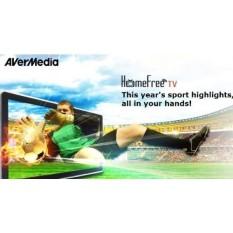 AVerMedia AVerTV Volar Hybrid Q, USB TV Tuner, ATSC, Clear QAM HDTV & FM Radio, Supports Windows & Android TV 7.0 or above (H837) - intl