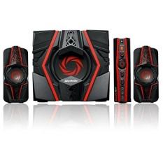 AVerMedia Ballista Trinity Gaming PC Speakers, 2.1 Sound System Speakers, 77 Watts, 3 Way Satellite Speakers (GS315) - intl