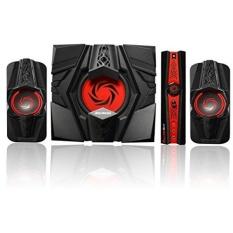 AVerMedia Ballista Unity Gaming Speakers, 2.1 Audio Sound System Speakers, 40 Watts, (GS310) - intl